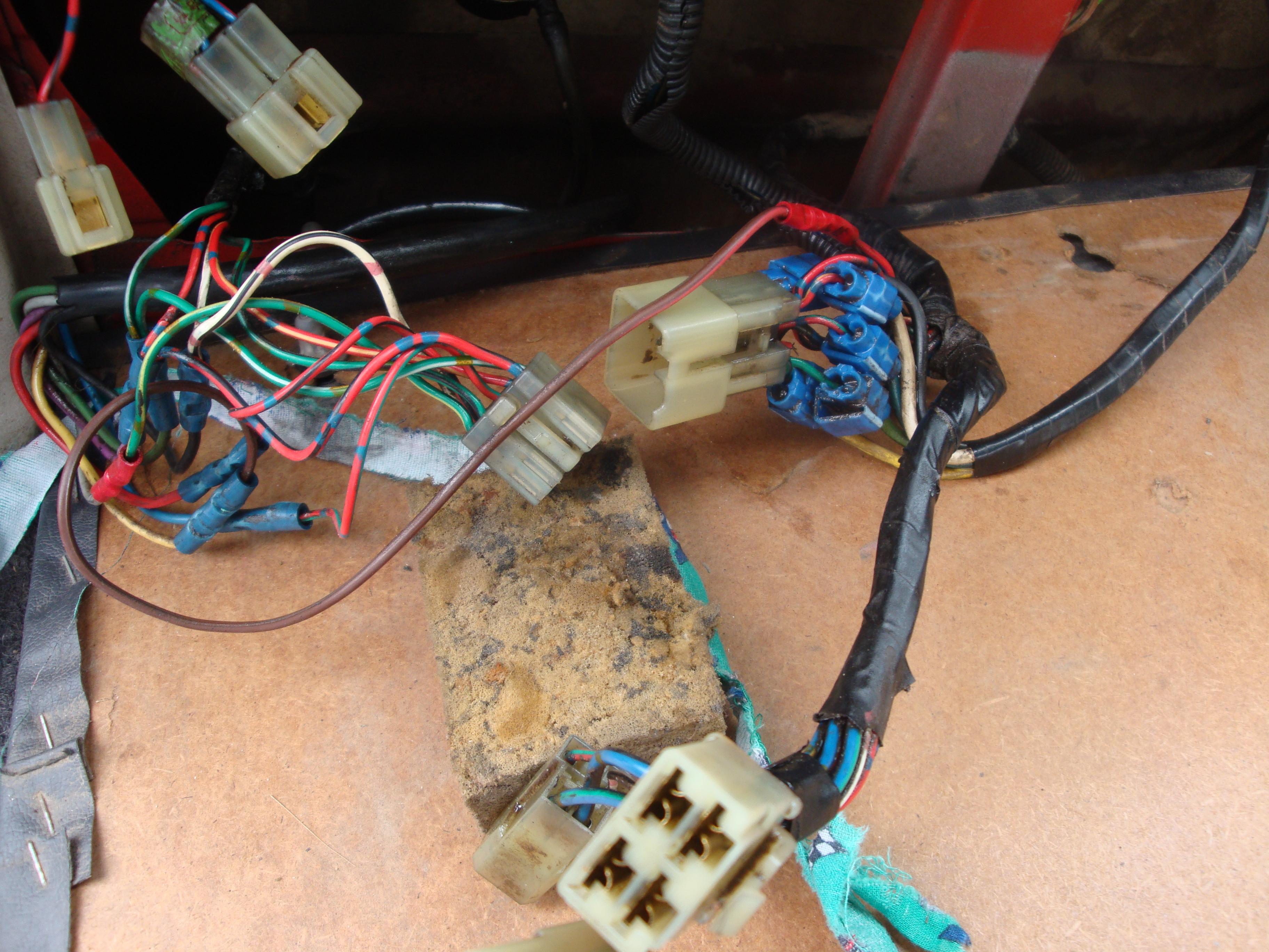 24v Glowalternatordomebuzzerbattery Electrics Hj60 Bj74 Wiring Diagram Landcruiser Rear Leftside
