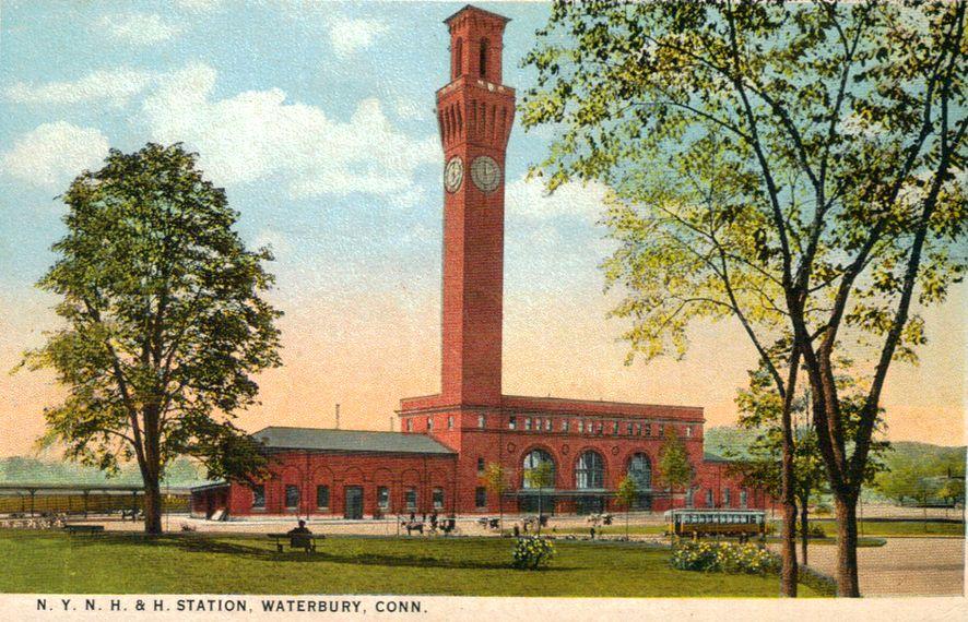 NH RR Waterbury Railway Station pic 1.jpg