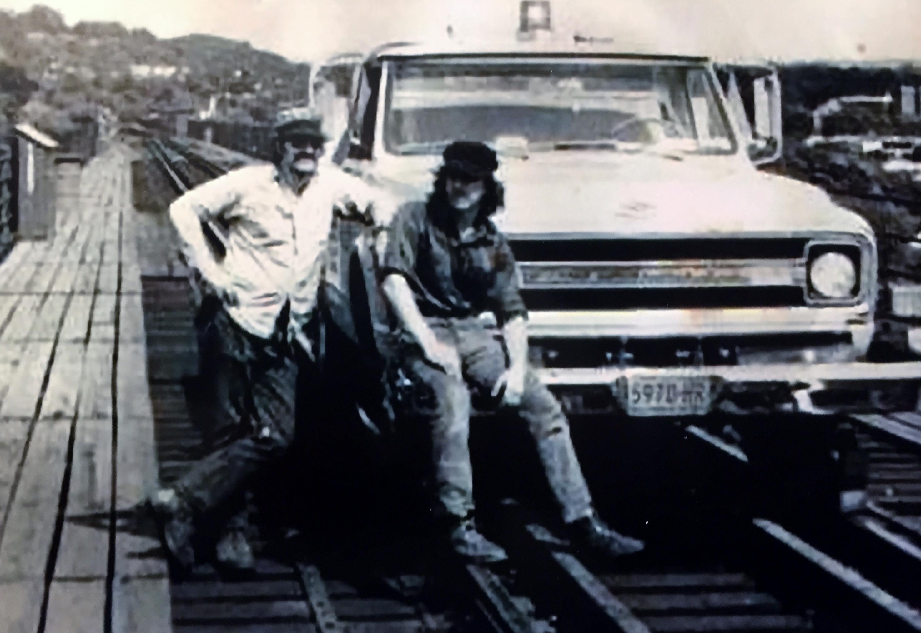 Bill & Al Goff Poughkeepsie Brdg 1972.jpg