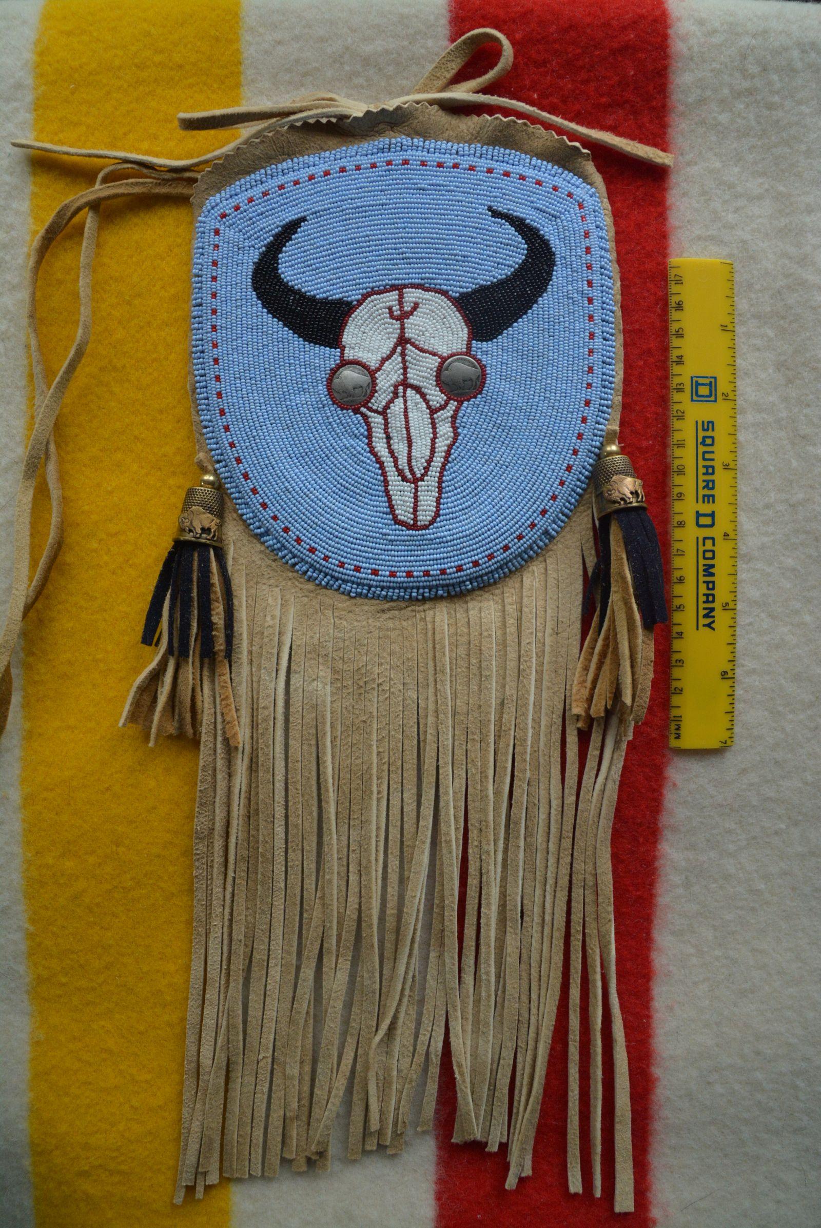 Bag Blue Bison Skull M. Ellis .jpg