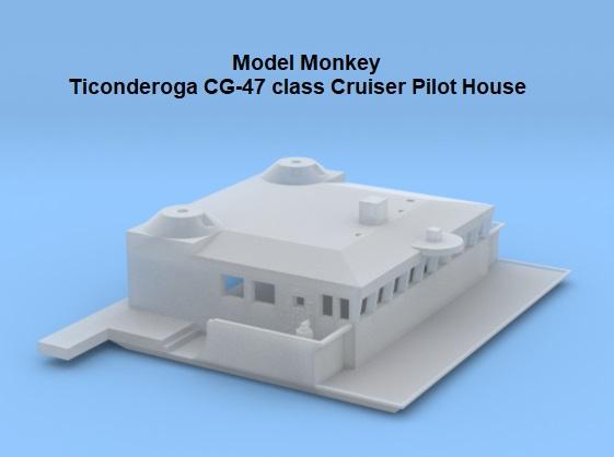 Model Monkey 1-350 Ticonderoga CG-47 class Pilot House.jpg