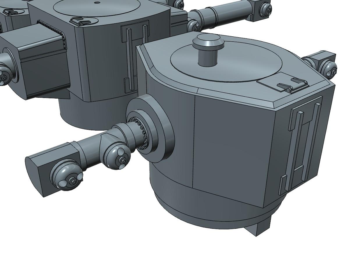 Model Monkey 1-350 Bismarck class Main Battery Rangefinders b.jpg