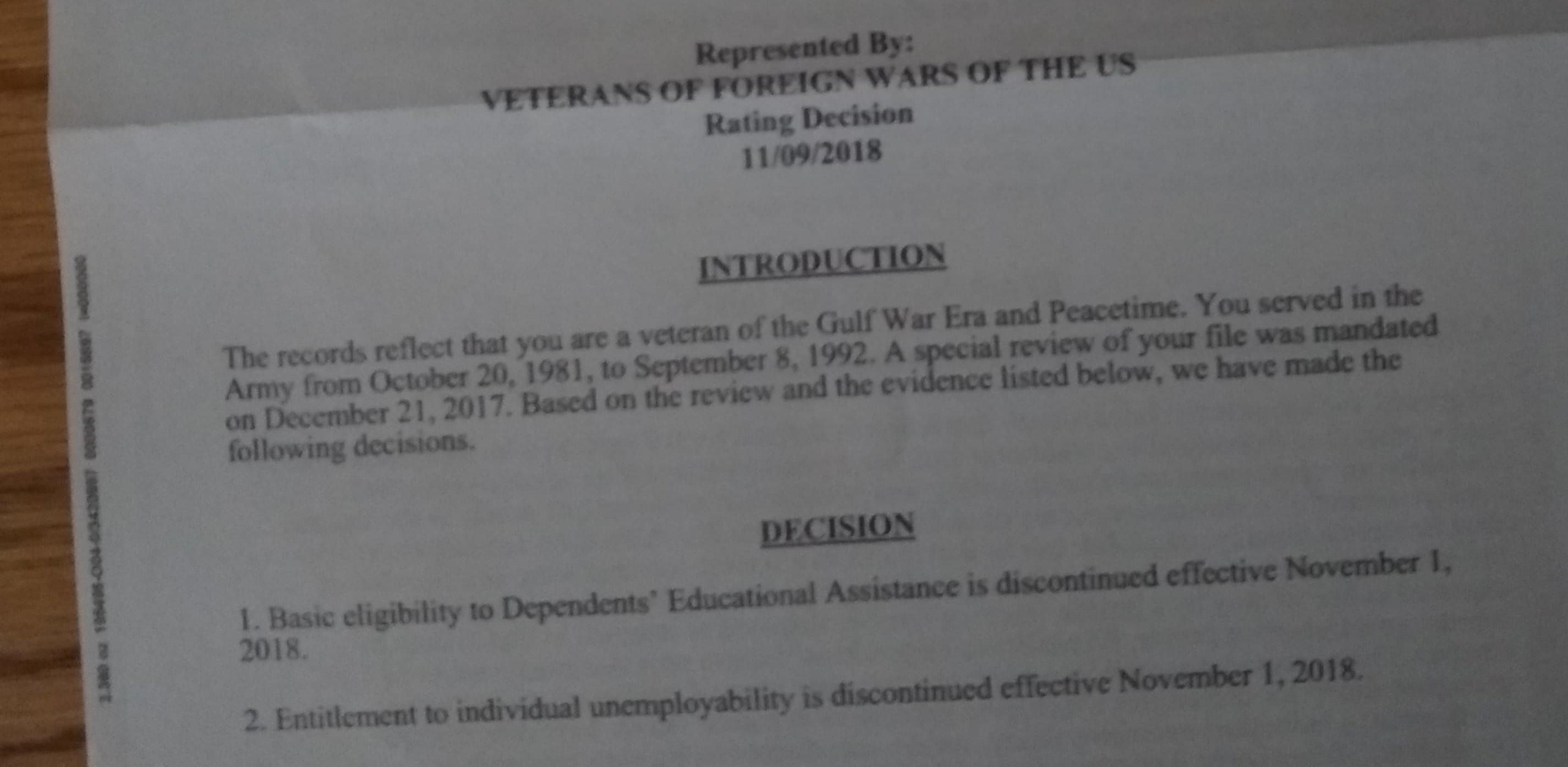 Still Not Received Va Form 21 4140 Veterans Benefits Network