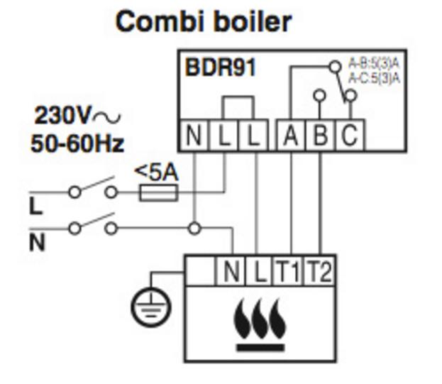 combi boiler timer wiring diagram