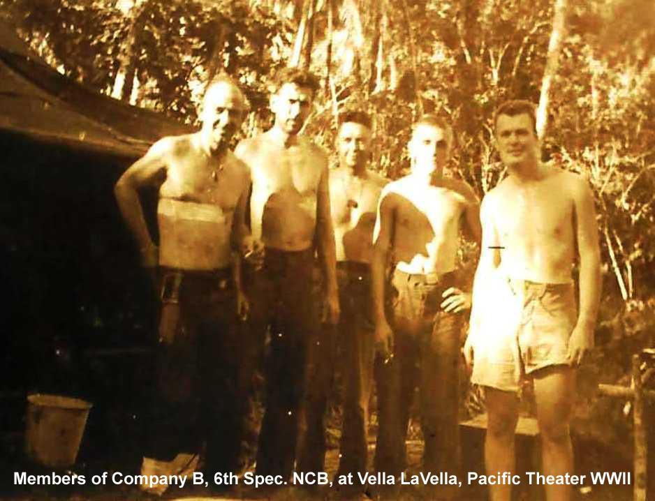 B Company members at Vella LaVella.jpg